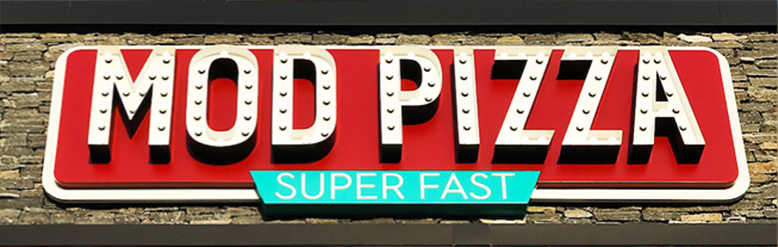 Mod Pizza Outdoor sign