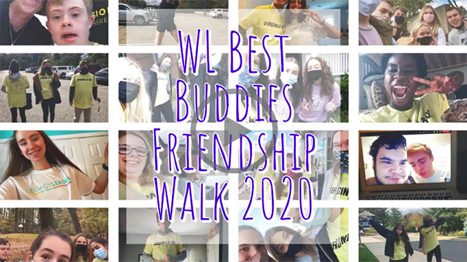 A compliation of photos from Washington-Liberty High School celebrating their Friendship Walk with a scavenger hunt!