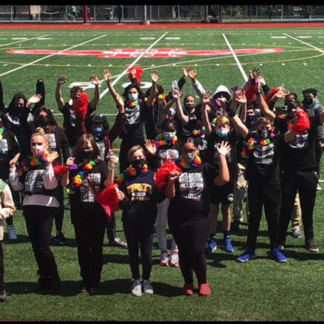 Hoboken School 'Best Buddies' Program Holds Friendship Walk