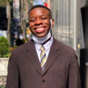 Best Buddies Jobs Participant, Joseph Parker