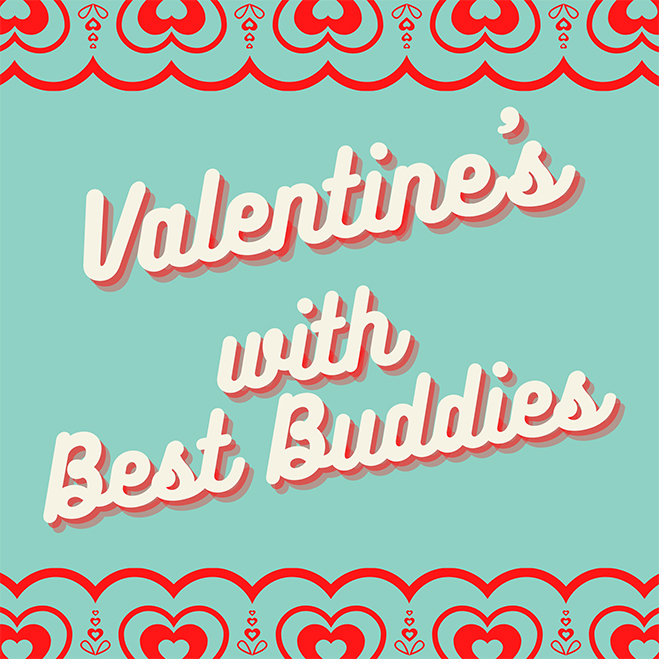 Valentine's with Best Buddies logo