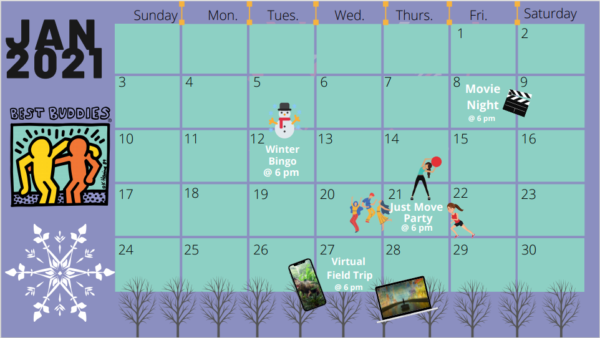Best Buddies in Maryland January Virtual Events