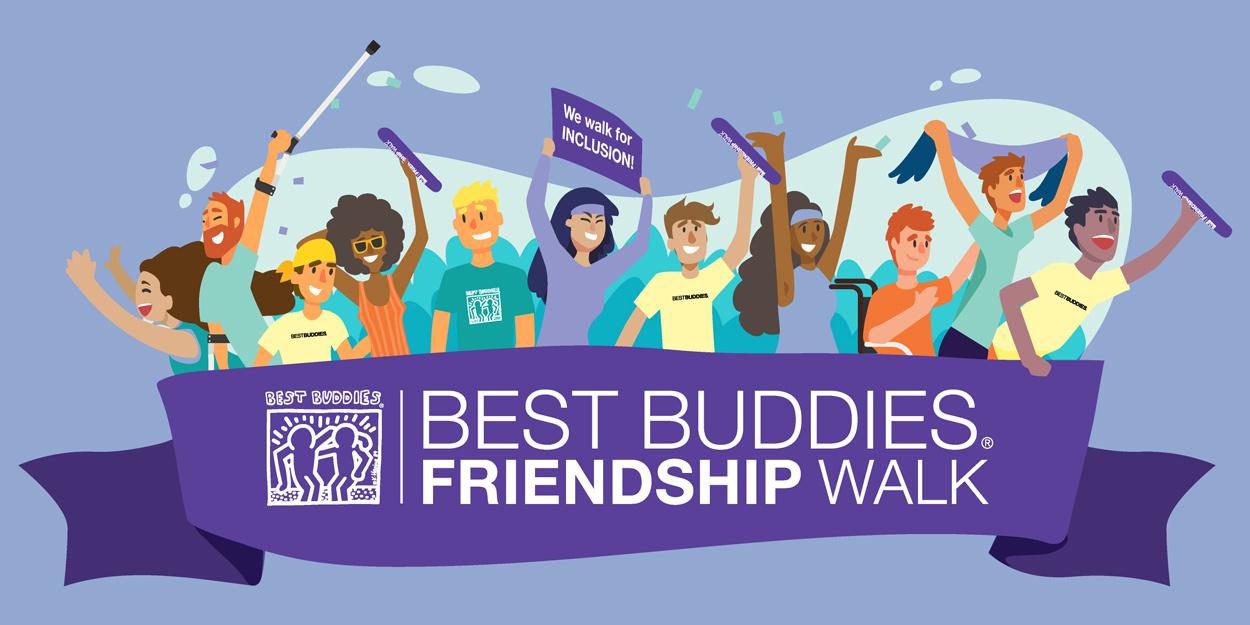 Best Buddies in Virginia & DC Newsletter March 2021: Best Buddies Friendship Walk image