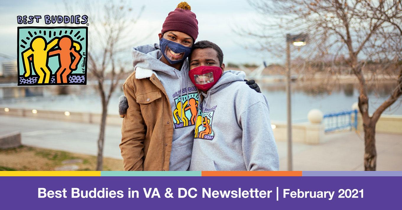 Best Buddies in Virginia & DC Newsletter February 2021 Letterhead