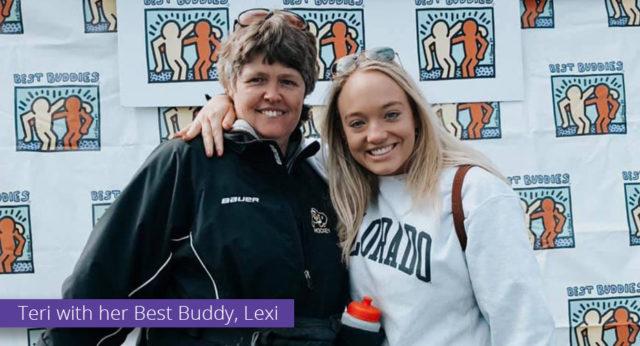 Best Buddies Participant Teri Leiker