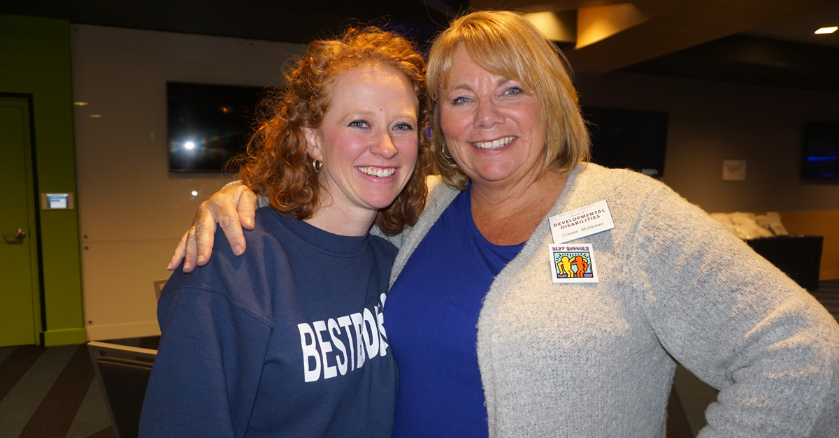Best Buddies in Ohio Volunteer Kate Malo