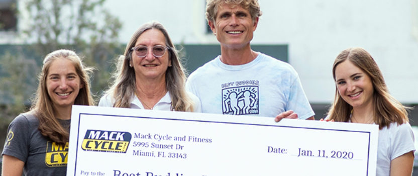 Mack Cycle & Fitness Donates $30,000 to Best Buddies International in Support of Individuals with Intellectual and Developmental Disabilities