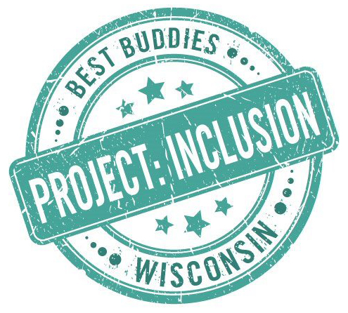 Best Buddies in Wisconsin Project: Inclusion Logo