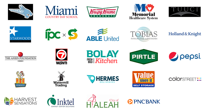 Best Buddies Firendship Walk 2021 Sponsor logos