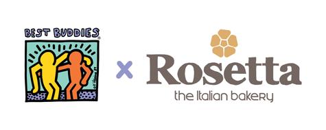Best Buddies X Rosetta Logo
