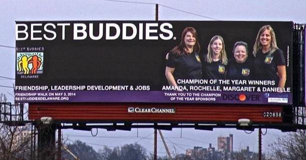 Best Buddies in Delaware buddy pair Margaret & Danielle