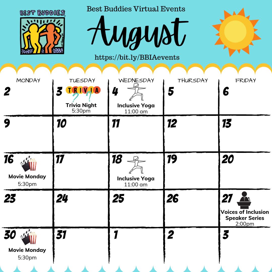 Best Buddies in Iowa August Events