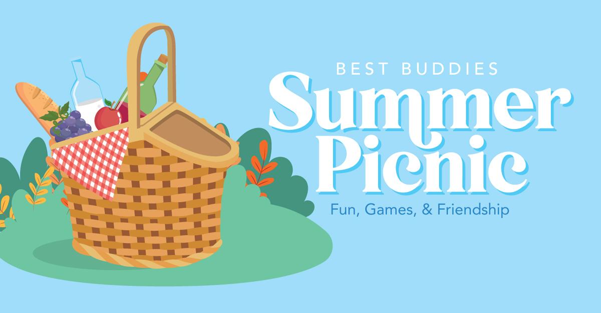 Best Buddies in Washington Summer Picnic Graphic