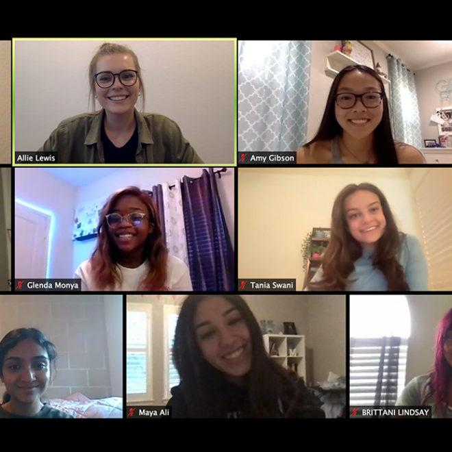 Texas Student Advisory Board Perseveres Through Virtual Year