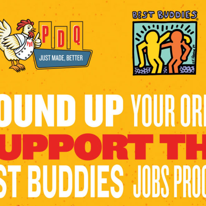 PDQ and Best Buddies International Partner to Raise Funds for Individuals with Intellectual and Developmental Disabilities